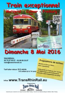 Train exceptionnel 2016 affiche Metzeral
